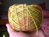 Yarn Along:  Spring is in the Air…